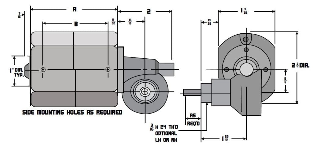 Model 660 GU Drawings