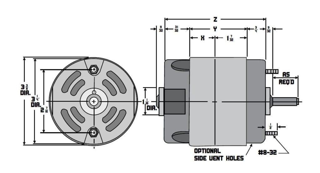 Model 2900 Drawings