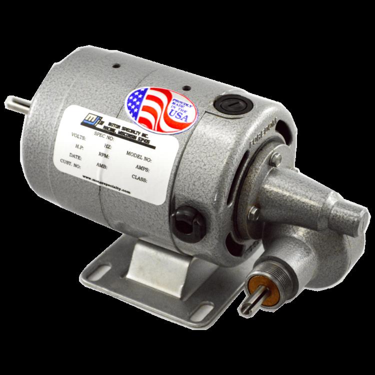 2900 GU Gear Motor 115 VAC 12 VDC side