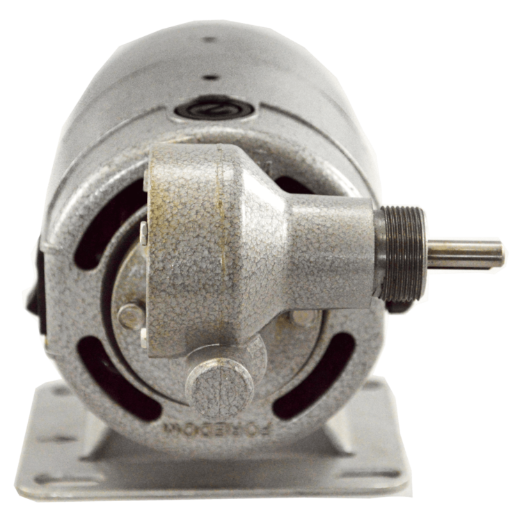 2900 GU Gear Motor 115 VAC 12 VDC back