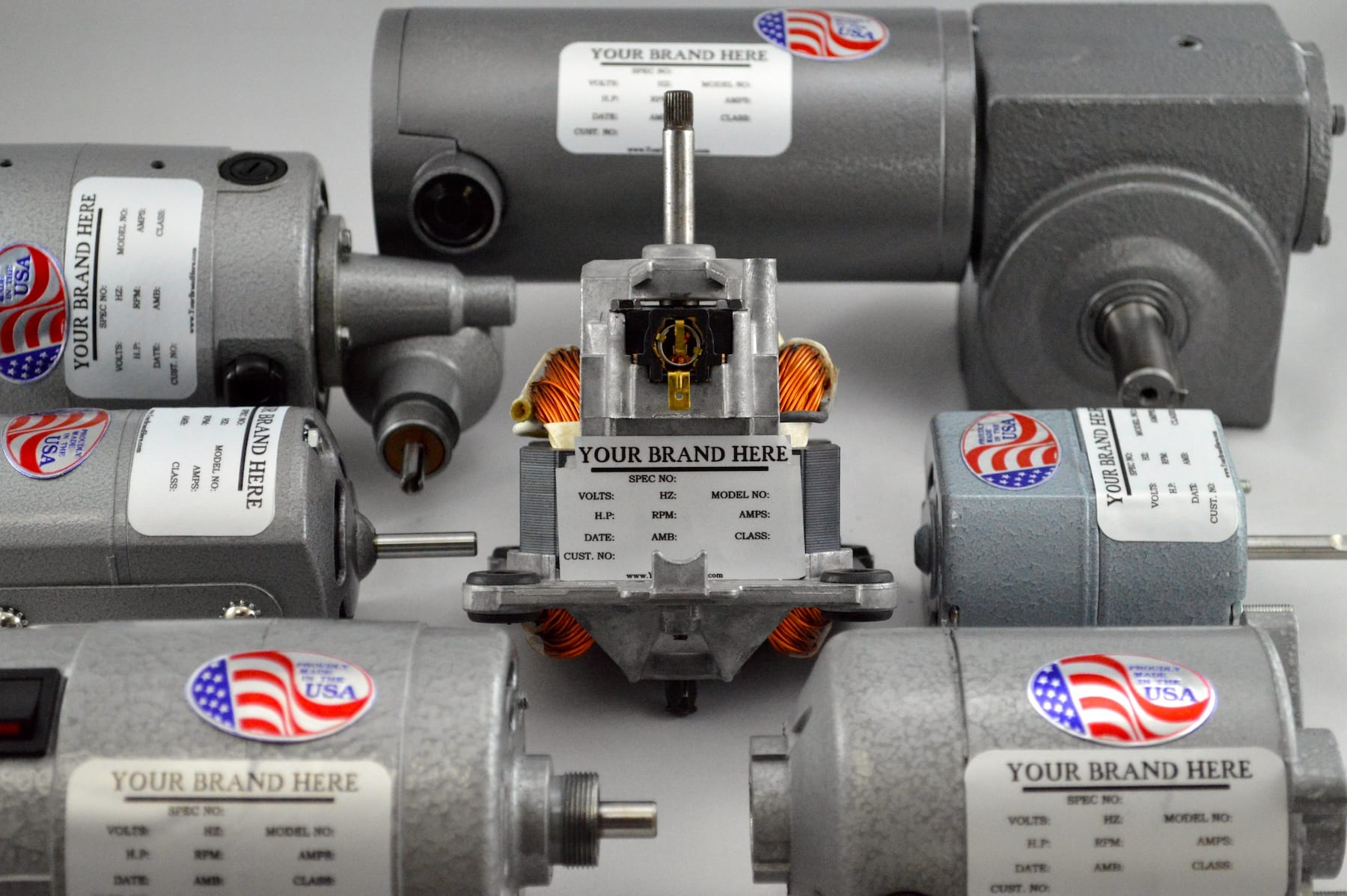 Motors that can be white labeled for your brand