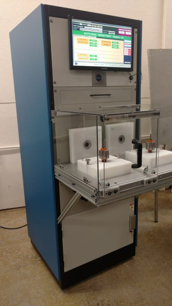 AT6000 Dual Station Armature Tester