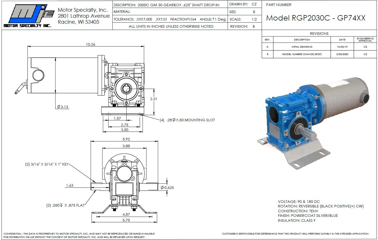 Baldor-Reliance Replacement Motors
