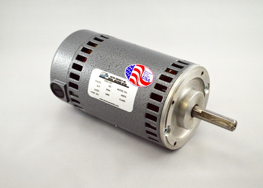 Motor Specialty Makes O.E.M.'s Job Easier with Drop In Replacement For Baldor Subfractional DC