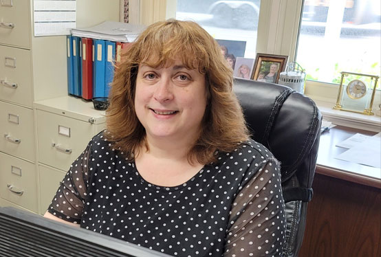 Assistant Director of Operations, Barb O'Haver